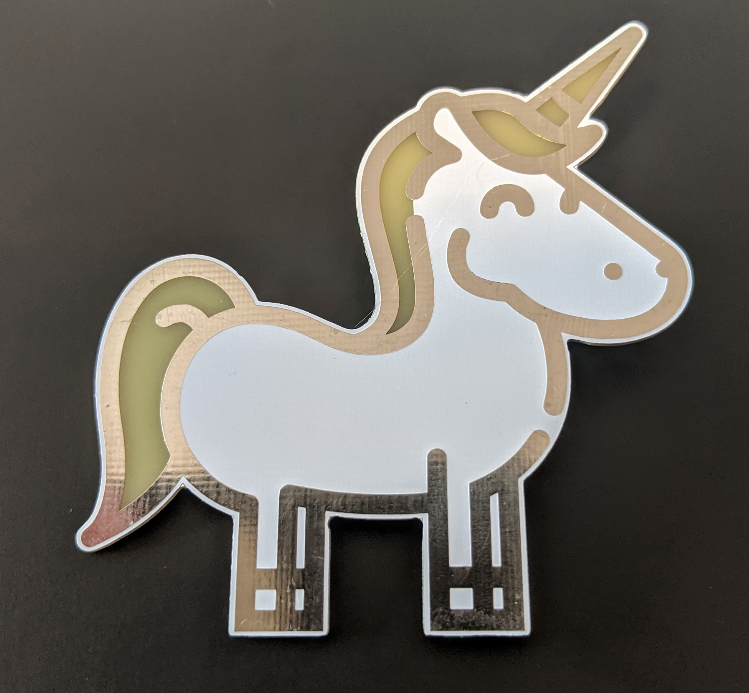 Rainbow Unicorn - Simple kit for a fantastic badge