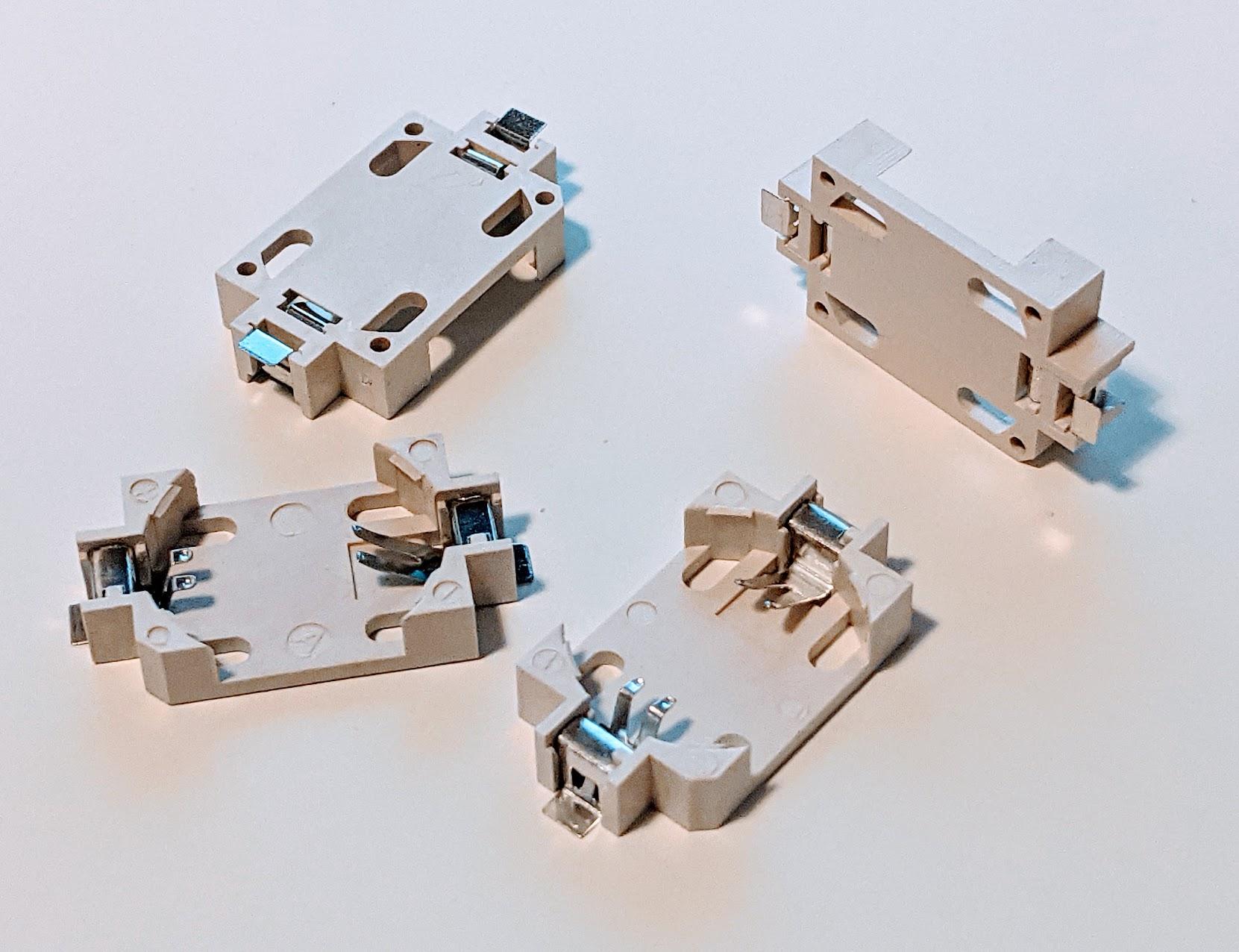 Batteriehalter für CR2032 Batterien - SMD Ausführung